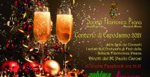 Concerto di Capodanno 2021 dei Solisti dell'Orchestra di Fiati