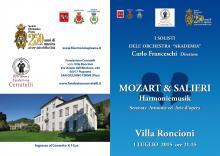 Mozart & Salieri a Villa Roncioni